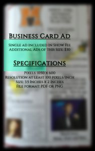 business card ad 2019